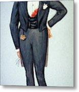 Oscar Wilde (1854-1900) Metal Print