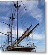 1812 Tall Ships Peacemaker Metal Print