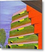 182-'tvabstract-003' Metal Print