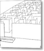 New Yorker July 10th, 2000 Metal Print