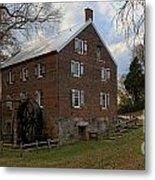 1823 North Carolina Grist Mill Metal Print