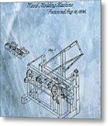 1836 Wood Molding Machine Metal Print
