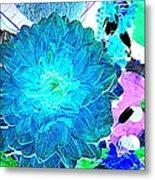 Flowers Flowers And Flowers Metal Print