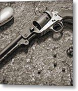 1851 Navy Revolver 36 Caliber - 2 Metal Print