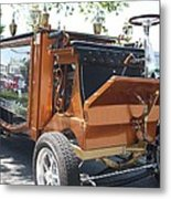 1852 Cunningham Hearse With 383 Chevy Stroker Engine Metal Print