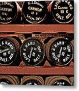 1861 Civil War Cannon Powder Magazine Metal Print