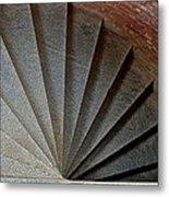 1861 Fort Point Tower Stairs San Francisco Bay Metal Print