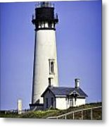 1872 Historic Lighthouse Metal Print