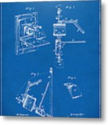 1881 Taylor Camera Obscura Patent Blueprint Metal Print