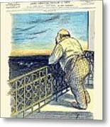 1897 - Le Rire Journal Humoristique Paraissant Le Samedi Magazine Cover - July 31 - Color Metal Print