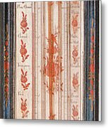 18th Century Thermometer-barometer Metal Print