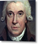 James Watt (1736-1819) Metal Print