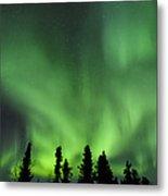 The Aurora Borealis Metal Print