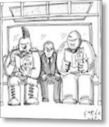 New Yorker April 20th, 2009 Metal Print
