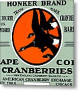 1900 Honker Cranberries Metal Print