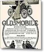 1904 - Oldsmobile Automobile Advertisement Metal Print