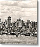 1906 Manhattan Panorama Metal Print