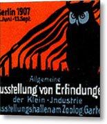 1907 Berlin Exposition Poster Metal Print
