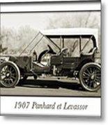 1907 Panhard Et Levassor Metal Print