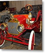 1908 Ford Model T Touring 5d25558 Metal Print by Wingsdomain Art and Photography