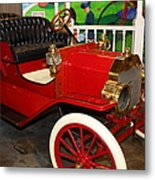 1908 Ford Model T Touring 5d25560 Metal Print by Wingsdomain Art and Photography