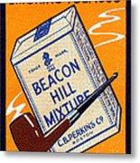 1910 Beacon Hill Pipe Tobacco Metal Print
