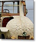1910 Brooke Swan Car Metal Print
