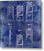 1910 Cigar Cutter Patent Drawing Blue Metal Print