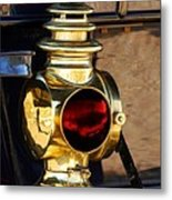 1910 Pope Hartford Model T Lamp Metal Print