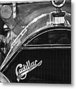 1911 Cadillac Roadster Grille And Hood Ornament Metal Print by Jill Reger