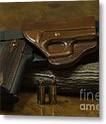 1911 Concealed Carry Metal Print