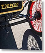 1911 Ford Model T Torpedo Grille Emblem Metal Print