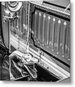 1912 Rolls-royce Silver Ghost Rothchild Et Fils Style Limousine Snake Horn -0711bw Metal Print