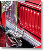 1912 Rolls-royce Silver Ghost Rothchild Et Fils Style Limousine Snake Horn -0711c Metal Print