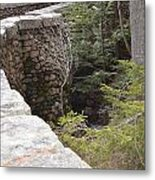 1917 Carriage Road Bridge Jordan Stream Acadia Maine Metal Print
