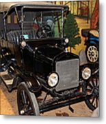 1917 Ford Model T Touring 5d25581 Metal Print by Wingsdomain Art and Photography