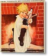 1917 - Modern Priscilla Magazine Cover - December Metal Print