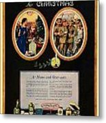 1918 - Colgate Advertisement - World War I - Color Metal Print