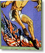 1919 Allied Games Poster Metal Print