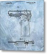 1920 Handgun Patent Metal Print