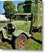 1920s Ford Moving Truck Metal Print
