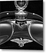 1921 Duesenberg Hood Ornament Metal Print