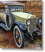 1921 Hudson-featured In Vehicle Enthusiasts And Comfortable Art And Photography And Textures Groups Metal Print