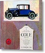 1922 - Cole 890 - Advertisement - Color Metal Print