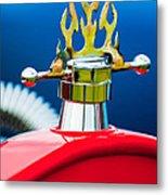 1923 Ford T-bucket Aftermarket Hood Ornament Metal Print