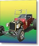 1923  Ford T Bucket  Metal Print by Jack Pumphrey