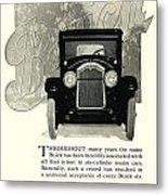 1924 - Buick Six Advertisement Metal Print