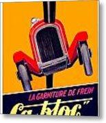 1924 - Ca-bloc Brakes French Advertisement Poster - Color Metal Print