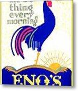 1924 - Eno's Fruit Salt Advertisement - Color Metal Print