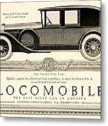 1924 - Locomobile Victoria Sedan Automobile Advertisement Metal Print